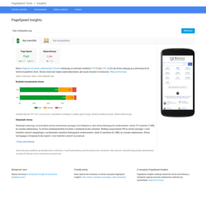 PageSpeed Insight - mobile